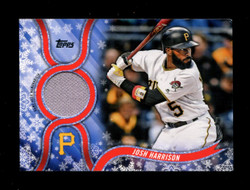 2018 JOSH HARRISON TOPPS HOLIDAY GU RELIC PIRATES *R1118