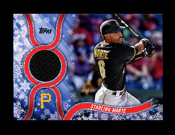2018 STARLING MARTE TOPPS HOLIDAY GU RELIC PIRATES *1574