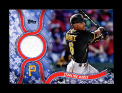 2018 STARLING MARTE TOPPS HOLIDAY GU RELIC PIRATES *R1821
