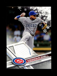 2017 ADDISON RUSSELL TOPPS HOLIDAY GU RELIC CUBS *3396