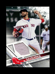 2017 DAVID PRICE TOPPS HOLIDAY GU RELIC RED SOX *3153