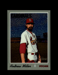 2019 ANDREW MILLER TOPPS HERITAGE #521 CHROME #/999 CARDINALS *R2690