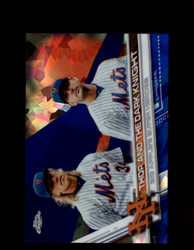 2017 BIG APPLE'S SUPER HEROES TOPPS CHROME SAPPHIRE #32 METS *R2774