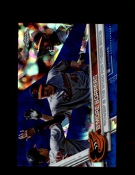 "2017 ""POWER"" WORD FOR THESE BIRDS TOPPS CHROME SAPPHIRE #36 ORIOLES *R2773"