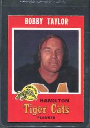 1971 BOBBY TAYLOR OPC CFL #64 O PEE CHEE HAMILTON #2838