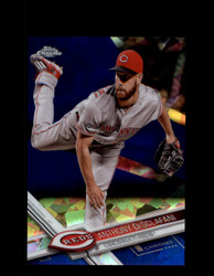 2017 ANTHONY DESCLAFANI TOPPS CHROME SAPPHIRE #297 REDS *R2994