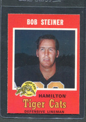 1971 BOB STEINER OPC CFL #73 O PEE CHEE HAMILTON #2835