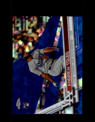 2017 ANDREW TOLES TOPPS CHROME SAPPHIRE #454 DODGERS *R3063