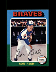 1975 RON REED OPC #81 O-PEE-CHEE BRAVES *R3073