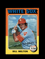 1975 BILL MELTON OPC #11 O PEE CHEE WHITE SOX *R3121