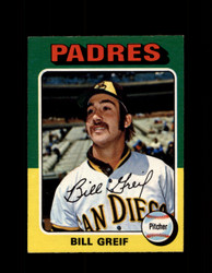 1975 BILL GREIF OPC #168 O-PEE-CHEE PADRES *R3269