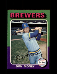 1975 DON MONEY OPC #175 O-PEE-CHEE BREWERS *R3239