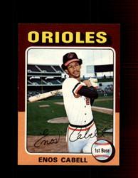 1975 ENOS CABELL OPC #247 O-PEE-CHEE ORIOLES *R3189