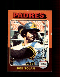 1975 BOB TOLAN OPC #402 O-PEE-CHEE PADRES *R3336
