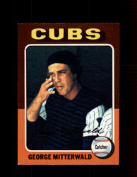 1975 GEORGE MITTERWALD OPC #411 O-PEE-CHEE CUBS *R3345