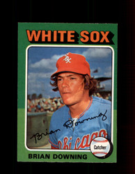 1975 BRIAN DOWNING OPC #422 O-PEE-CHEE WHITE SOX *R3355