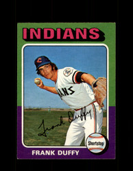 1975 FRANK DUFFY OPC #448 O-PEE-CHEE INDIANS *R3426