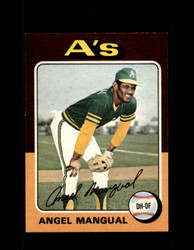 1975 ANGEL MANGUAL OPC #452 O-PEE-CHEE ATHLETICS *R3430