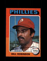 1975 BILL ROBINSON OPC #501 O-PEE-CHEE PHILLIES *R3505