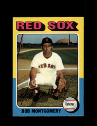 1975 BOB MONTGOMERY OPC #559 O PEE CHEE RED SOX *R3549