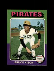 1975 BRUCE KISON OPC #598 O PEE CHEE PIRATES *R3615