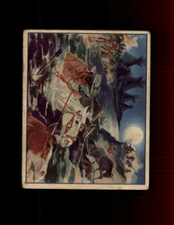 1940 LONE RANGER GUM INC. #42 STORMING THE INDIAN CAMP BY NIGHT *R2182