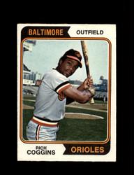 1974 RICH COGGINS OPC #353 O-PEE-CHEE ORIOLES *R3921