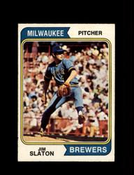 1974 JIM SLATON OPC #371 O-PEE-CHEE BREWERS *R3931
