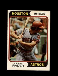 1974 DOUG RADER OPC #395 O-PEE-CHEE ASTROS *R3947