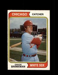 1974 CHUCK BRINKMAN OPC #641 WHITE SOX *R4154