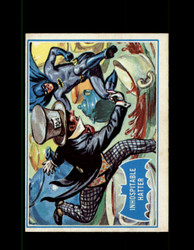 1966 BATMAN OPC #42B INHOSPITABLE HATTER BLUE BAT *R1283
