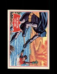 1966 BATMAN OPC #7A THE BATLINE LIFE-LINE RED BAT *R4170