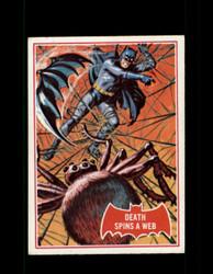 1966 BATMAN OPC #18A DEATH SPINS A WEB RED BAT *R4182