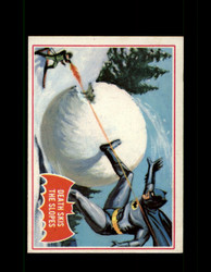 1966 BATMAN OPC #22A DEATH SKIS THE SLOPES RED BAT *R4187