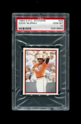 1983 EDDIE MURRAY OPC #29 STICKERS O PEE CHEE ORIOLES PSA 10