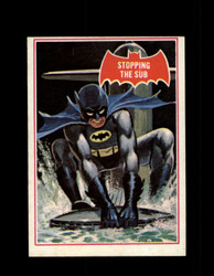 1966 BATMAN OPC #39A STOPPING THE SUB RED BAT *R4203