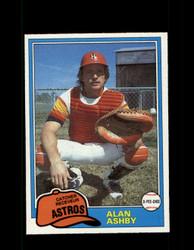 1981 ALAN ASHBY OPC #146 O-PEE-CHEE ASTROS GRAY BACK *R4241