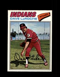 1977 DAVE LAROCHE OPC #61 O-PEE-CHEE INDIANS *R4316