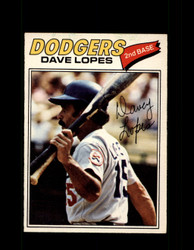 1977 DAVE LOPES OPC #96 O-PEE-CHEE DODGERS *R4333