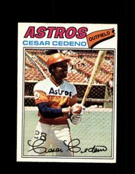 1977 CESAR CEDENO OPC #131 O-PEE-CHEE ASTROS *R4353