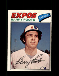 1977 BARRY FOOTE OPC #207 O-PEE-CHEE EXPOS *R4410