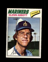 1977 GLENN ABBOTT OPC #219 O-PEE-CHEE MARINERS *R4419