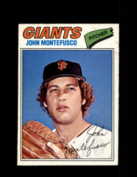 1977 JOHN MONTEFUSCO OPC #232 O-PEE-CHEE GIANTS *R4427