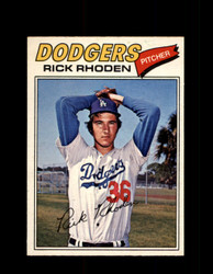 1977 RICK RHODEN OPC #57 O-PEE-CHEE DODGERS *R4476