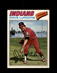 1977 DAVE LAROCHE OPC #61 O-PEE-CHEE INDIANS *R4478