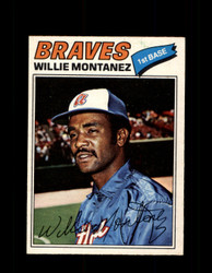 1977 WILLIE MONTANEZ OPC #79 O-PEE-CHEE BRAVES *R4493