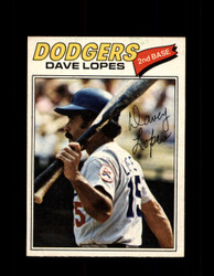 1977 DAVE LOPES OPC #96 O-PEE-CHEE DODGERS *R4504