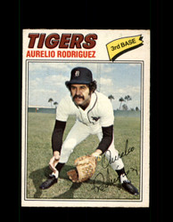 1977 AURELIO RODRIGUEZ OPC #136 O-PEE-CHEE TIGERS *R4523