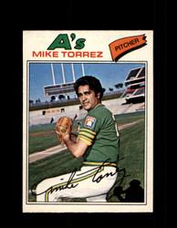 1977 MIKE TORREZ OPC #144 O-PEE-CHEE ATHLETICS *R4528