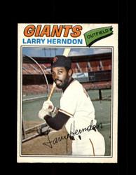 1977 LARRY HERNDON OPC #169 O-PEE-CHEE GIANTS *R4541